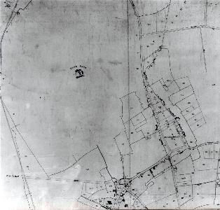 The north-west part of Eaton Bray in 1860 [MA92]